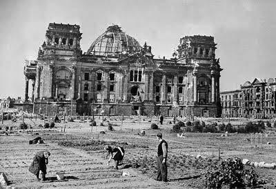 Reichstag Berlin posguerra
